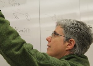 Prof Markstein teaching